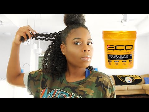 Eco Style GOLD Gel Gets Sliver Rating? REVIEW | Transitioning Hair