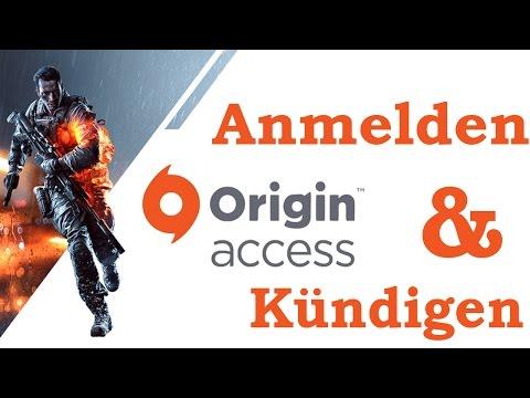 Origin Access: Anmelden & Kündigen