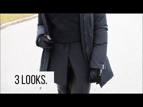 3 Cold Weather Outfits