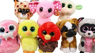 Real or Fake? Beanie Boo Haul from eBay Unboxing Toy Review TY Beanie Boos Plush