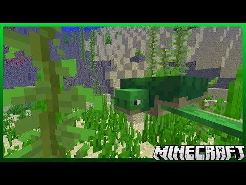 Turtles in Minecraft 1.13! (Snapshot 18w08b)