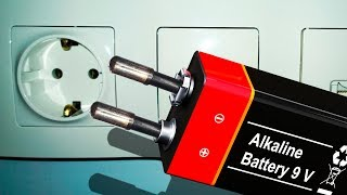 11 EXCELLENT TRICKS WITH BATTERIES