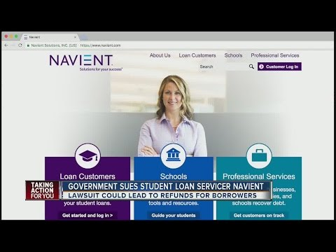 Lawsuit filed against student loan servicer, Navient, could benefit millions of borrowers