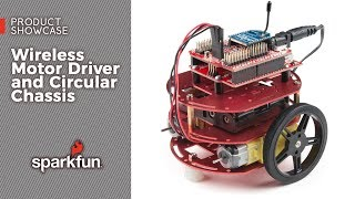 Product Showcase: Wireless Motor Driver Shield and Circular Chassis