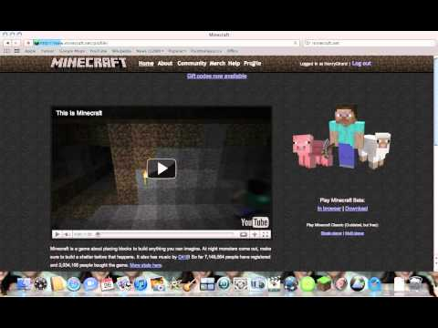 How to change your skin on Minecraft! (Pc & Mac)
