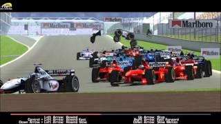rFactor] TYKA F1 2011 Monaco Crashes & Highlights - PakVim net HD