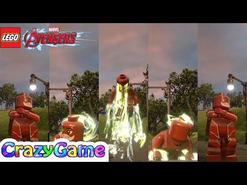 LEGO The Flash from Injustice 2 Free Roam - LEGO MARVEL's Avengers MOD
