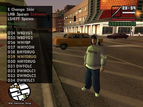 HOW TO INSTALL GTA SAN ANDREAS SKIN SELECTOR MOD