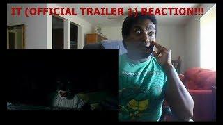 IT (OFFICIAL TRAILER 1) - REACTION!!!!!