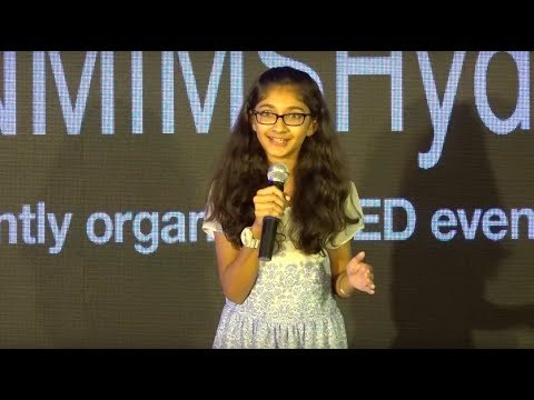 Experiences of a 12 year old author | Ishita Katyal | TEDxNMIMSHyderabad