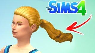 Hair Animation Mod - test 1 - The Sims 4 (WIP)