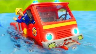 Sam Le Pompier jouets - Camion de pompier jouets - Véhicules jouets pour enfants  - Fireman Sam Toys