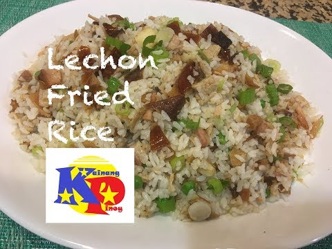 Lechon Fried Rice -