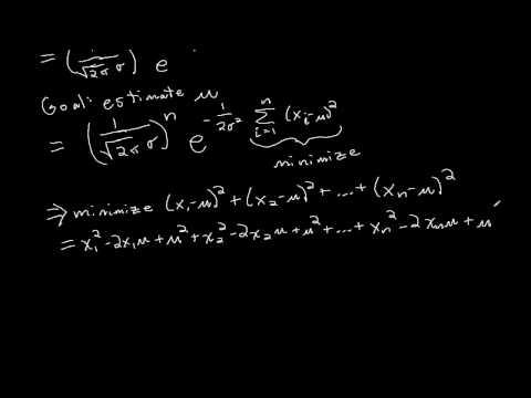 Maximum Likelihood Example: Normal