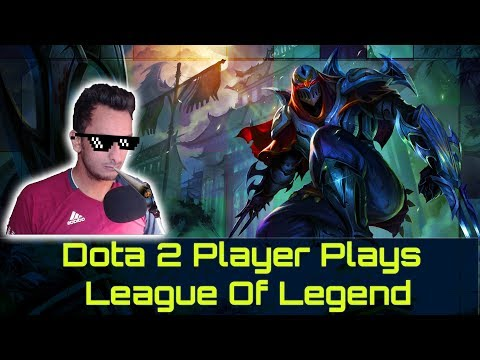 Dota 2 Player Plays League Of Legends For The First Time - Easy Tyler1