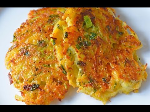 Potato & Carrot fritters