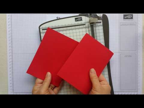 How To Cut & Score A4 Cardstock To Make Cards