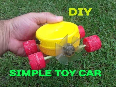 How To Make a Mini Car At Home toy with DC Motor Very Simple DIY