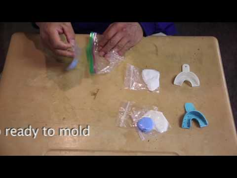 HOW TO DO MOLDS FOR GRILLZ  Gold/Silver Custom Grillz (Video Instructions)