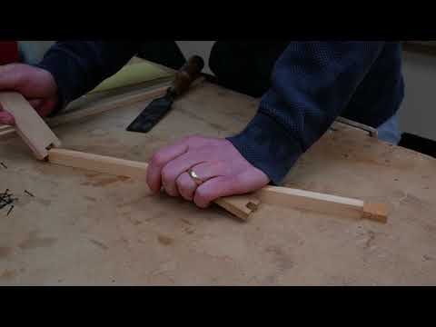 Making a Langstroth Frame