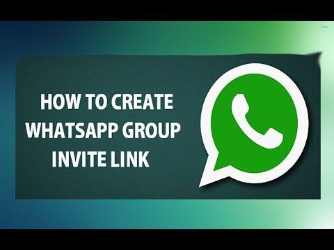 How to create whatsapp group invitation link 2017