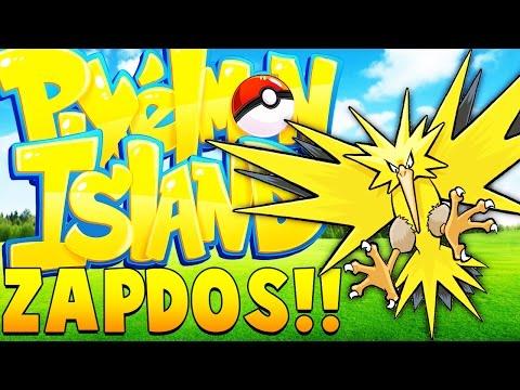 SPAWN ZAPDOS LEGENDARY - Minecraft Pixelmon Island - Pokemon Mod