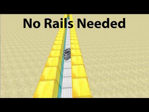 Minecraft car/Rail-less minecart