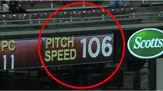 MLB Fastest Pitches in History (HD)