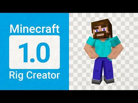 Minecraft Rig Creator v1.0 | for Autodesk Maya 2016