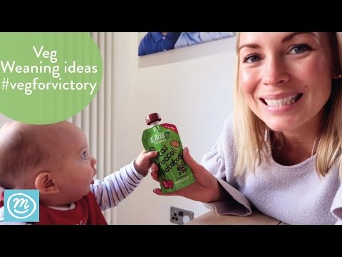 Veg For Victory Weaning Challenge With Ella's Kitchen & Channel Mum | ad