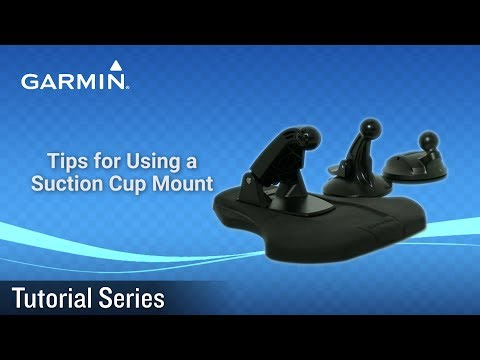 Tips for Using a Suction Cup Mount