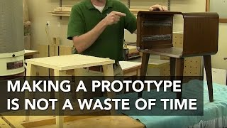 The Benefits Of Making A Furniture Project Prototype
