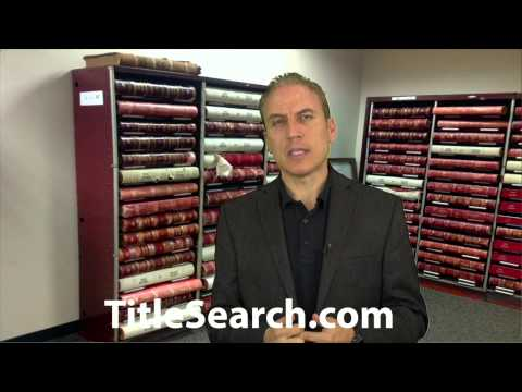 The most common reason to get a title search | AFX