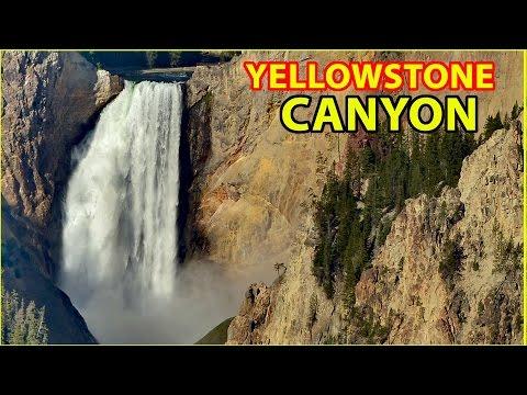 RV Camping at the Grand Canyon of Yellowstone National Park