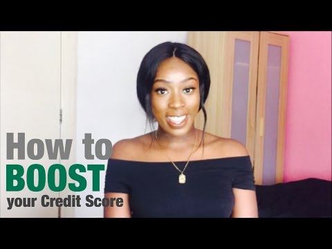 How to BOOST your Credit Rating/Score - PERSONAL FINANCES