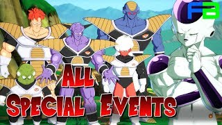 Dragon Ball FighterZ: All Special Events Unlocked - All Cutscenes