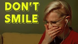 Try Not To Smile Challenge    Hannah Hart