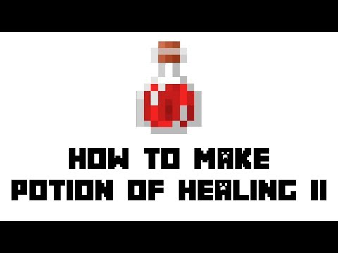 Minecraft Survival: How to Make Potion of Healing II