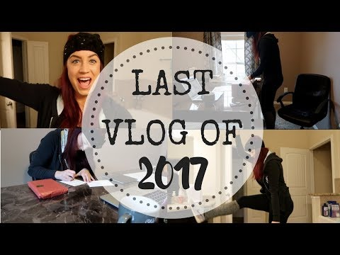 LAST VLOG OF 2017 | Majorly Productive Author Weekend-In-The-Life