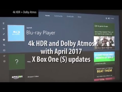 Setting up 4K HDR and Dolby Atmos with X-Box One S