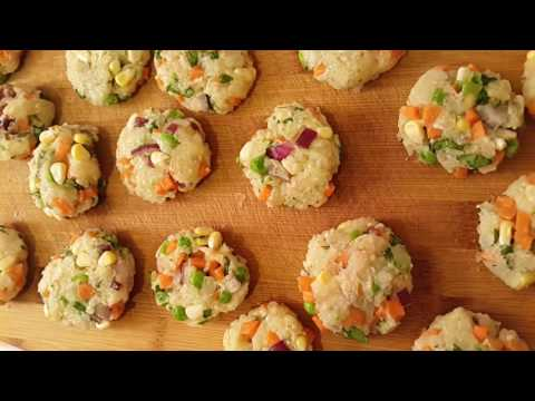 Vegetable Nuggets ~ Frozen - Quick Snack Recipe