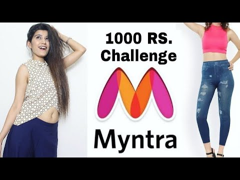 1000 Rs. Challenge On Myntra | Super Style Tips