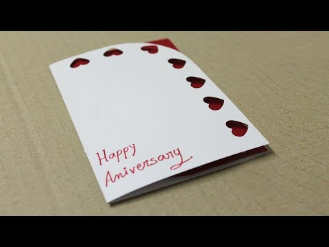 How to make anniversary card for mom and dad