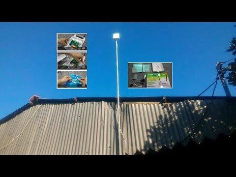 Out door long range WiFi router mod Tp-Link TL-WR841N hack lightning protection