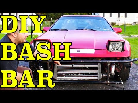 DIY Bash Bar | Drift Bumper | Drift Missile Build pt 13 | 1JZGTE Supra