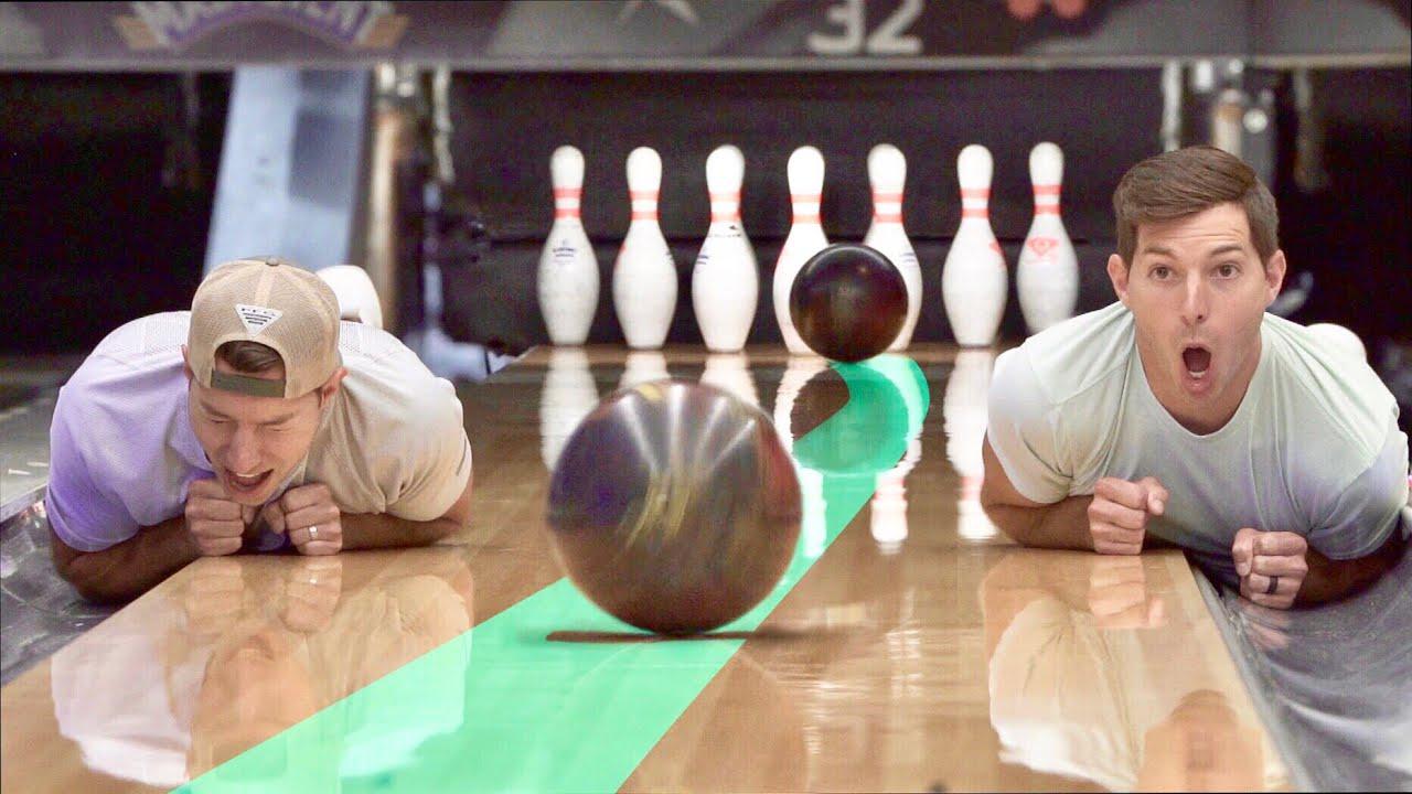 Bowling Trick Shots 2   Dude Perfect