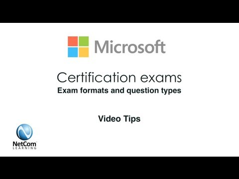 Microsoft Certification Exam Formats & Question Types