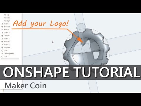 How to CAD your own Maker Coins in Onshape
