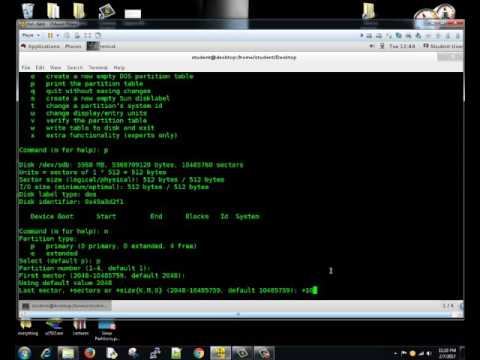 Linux Partitions using fdisk-MBR | Linux Tutorial #26