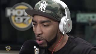 Mysonne Freestyles on Flex [Hot 97 Video]